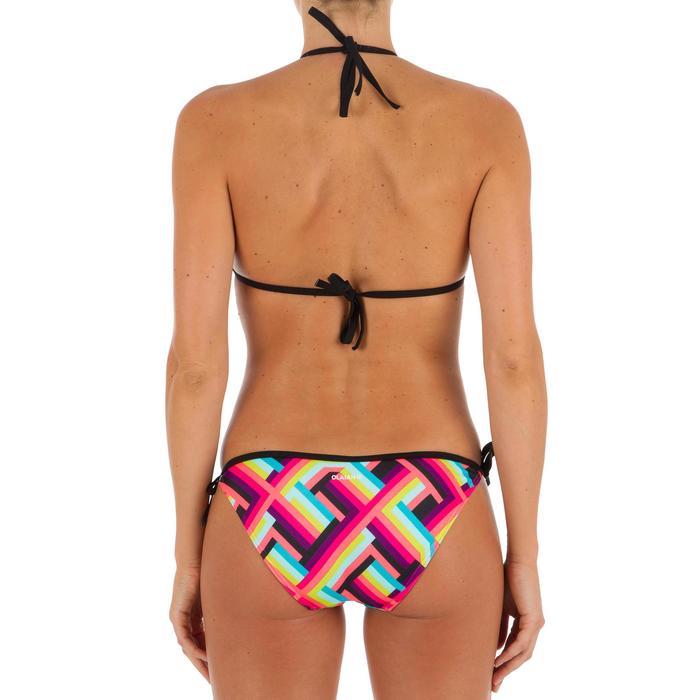 Bikini-Oberteil Triangel Mae verschiebbar mit abnehmbaren Cup-Schalen Damen Pop