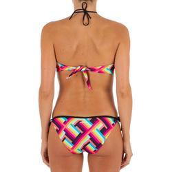 Bikini-Oberteil Bandeau Laeti Pop angenähte Formschalen Damen