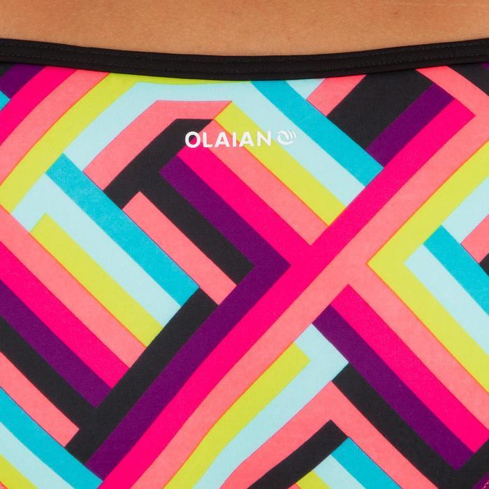 Dames bikinibroekje met striksluiting opzij voor surfen Sofy Pop
