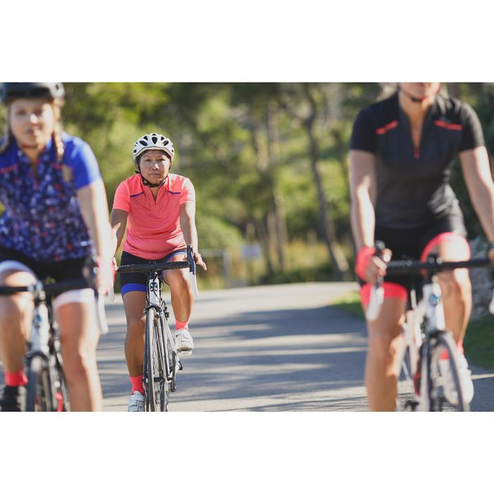 MAILLOT VELO MANCHES COURTE FEMME 500 - 1303201