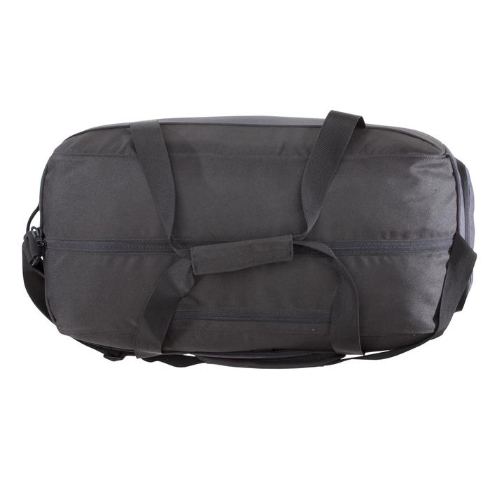 Bolsa fitness cardio-training 57 litros negro y gris