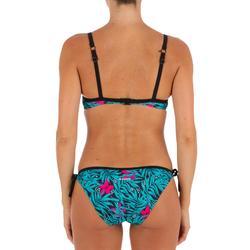 Bikini-Oberteil Corbeille Elo Bali Rückenträger X- oder U-förmig Damen schwarz