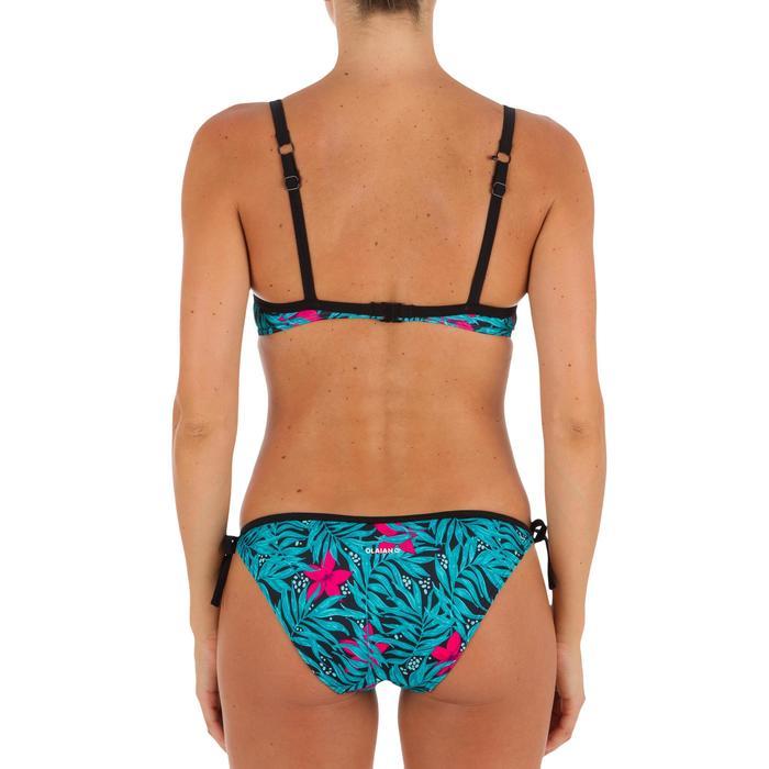 Haut de maillot de bain femme CORBEILLE ELO BALI NOIR avec dos U ou X