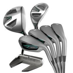 Golfset 7 clubs 500 voor dames, rechtshandig