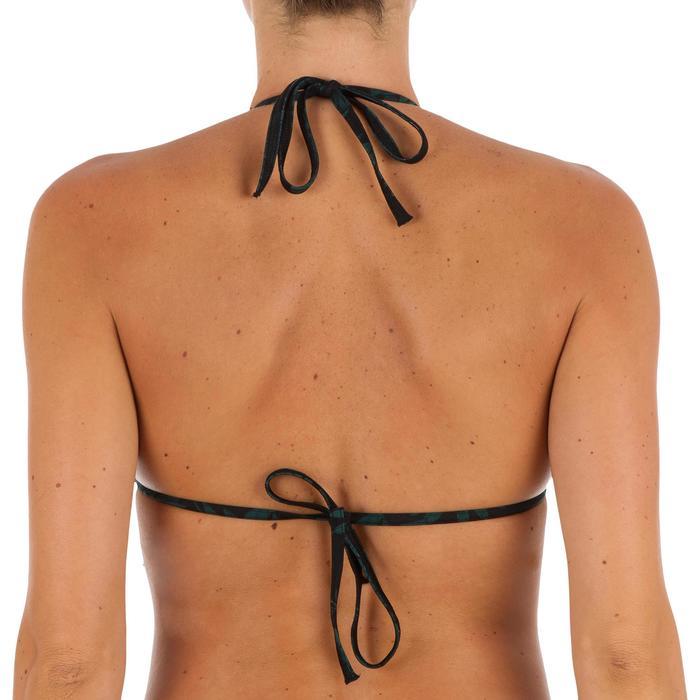 Sujetador de bikini mujer triángulos corredizos con copas MAE COLORB TERRA