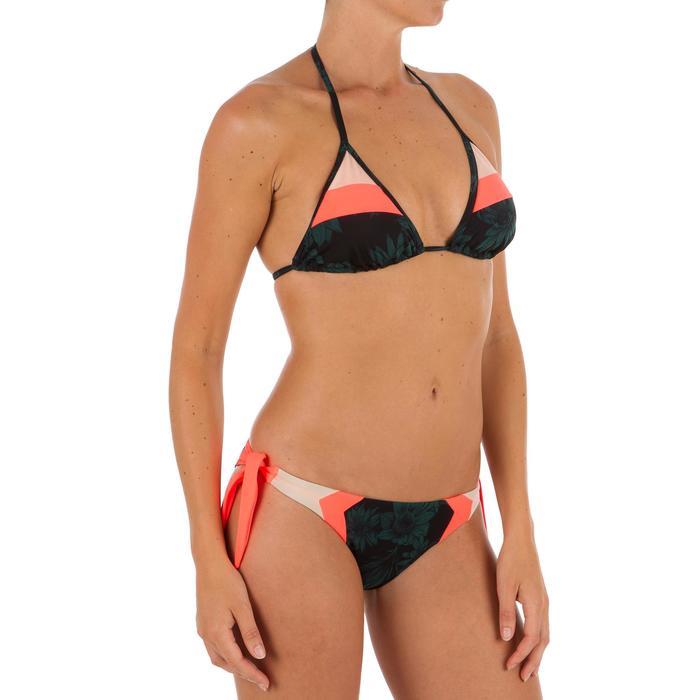 Haut de maillot de bain femme triangle coulissant avec coques MAE COLOR BLOCK FR - 1303484