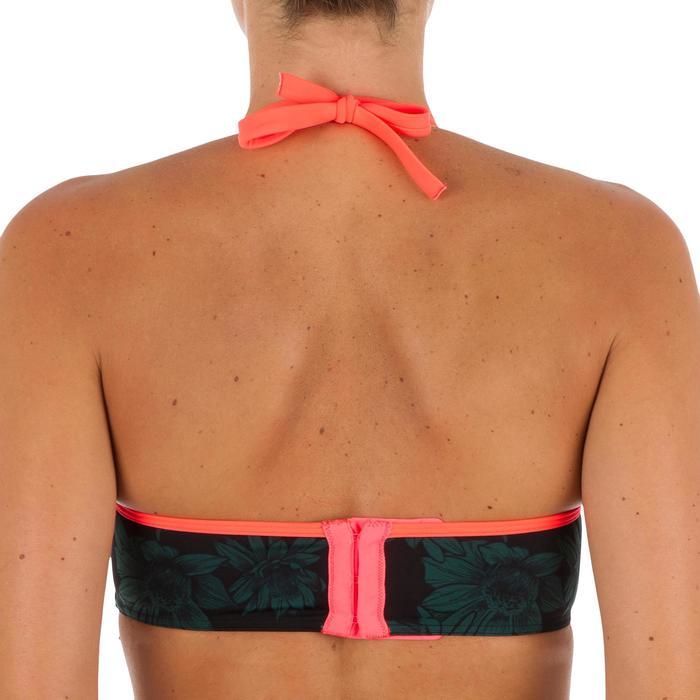 Haut de maillot de bain femme bandeau avec coques et armatures LEA BALI - 1303516