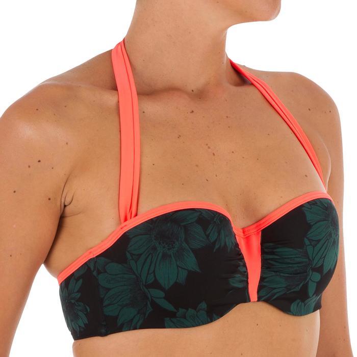Sujetador de bikini mujer forma banda con copas y aros LEA TERRA