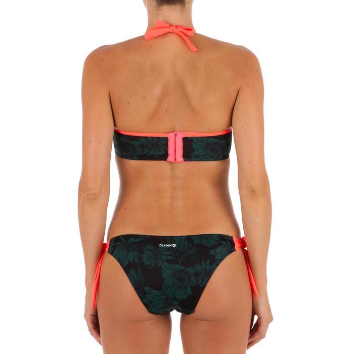 Bas de maillot de bain de surf femme échancrée et nouée côtés SABI COLORB - 1303520