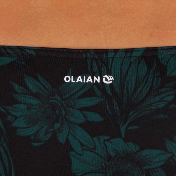 Bas de maillot de bain de surf femme échancrée et nouée côtés SABI COLORB - 1303556