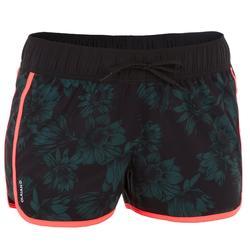 Boardshorts Tini Colorb elastischer Taillenbund mit Kordelzug Damen