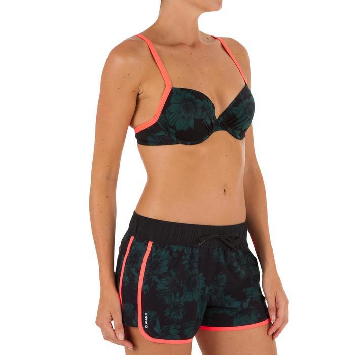 Boardshort femme TINI STREET avec ceinture élastiquée et cordon de serrage - 1303571