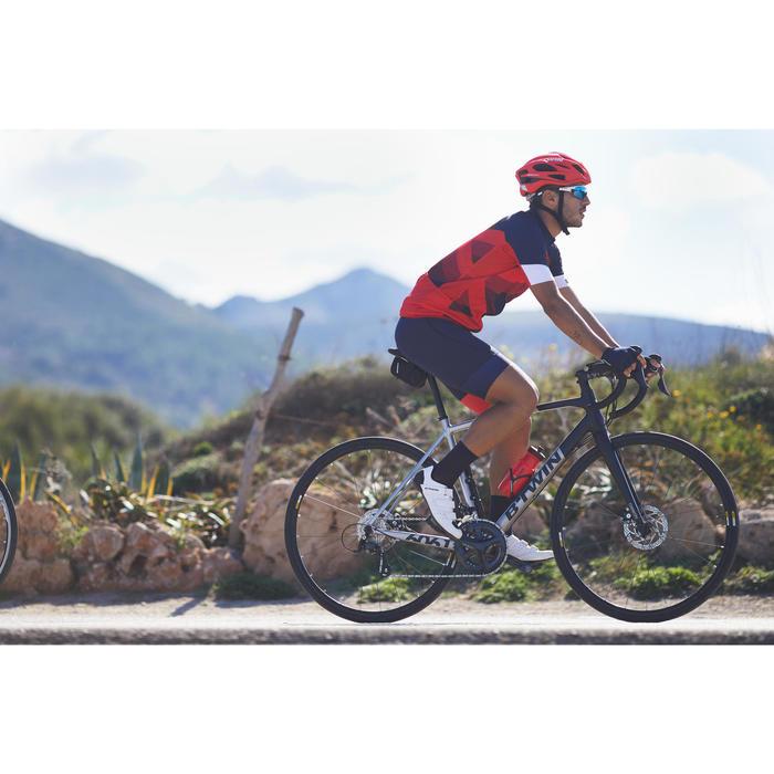 BICICLETA DE CARRETERA FRENO DISCO ULTRA 500 AF GF NEGRO GRIS