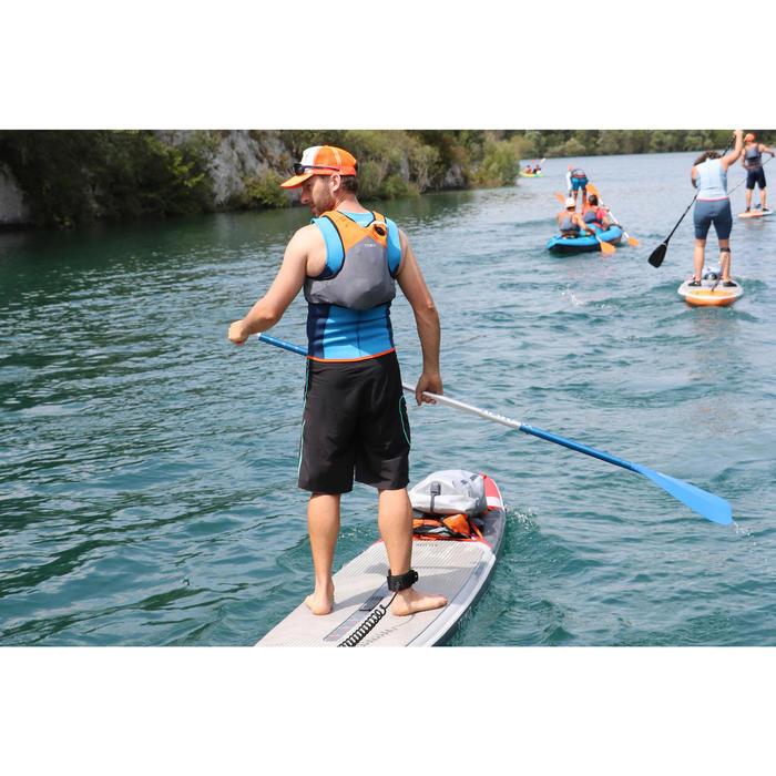 Neoprenweste Kajak und Stand up Paddle 500 Neopren 2mm Herren blau