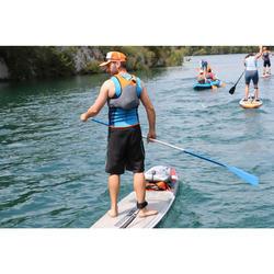 Weste Kajak und Stand up Paddle 500 Neopren 2 mm Herren blau