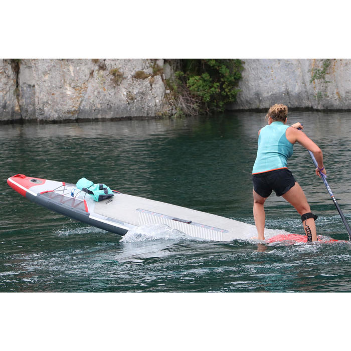 CHALECO KAYAK Y STAND UP PADDLE 500 MUJER NEOPRENO 2 MM VERDE