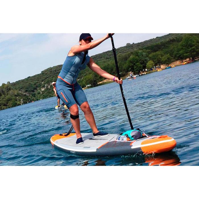 Neoprenshorts Kajak und Stand Up Paddle 500 Neopren 2mm Damen blau