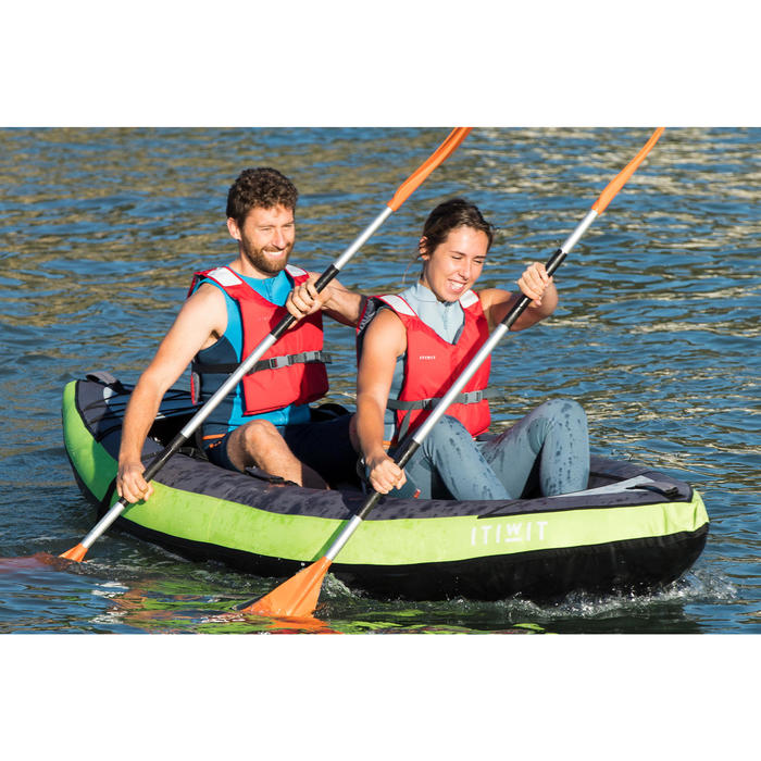 CHALECO KAYAK Y STAND UP PADDLE 500 MUJER NEOPRENO 2 mm AZUL