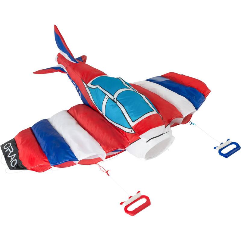 LÉTAJÍCÍ DRAK Létající draci, kitesurfing, landkiting - DRAK 3D PLANE 170 ORAO - Létající draci, kitesurfing, landkiting