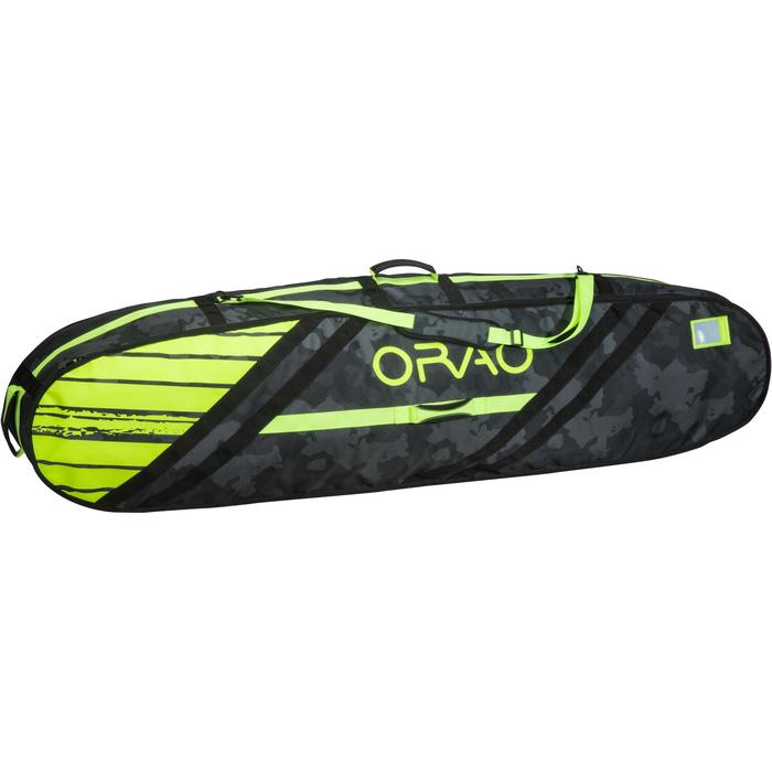 """DAILY"" BOARDBAG Surfkite- 6' max - yellow"