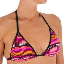 Bikini-Oberteil Triangel verschiebbar mit Cup-Schalen Mae Jazz Damen rosa