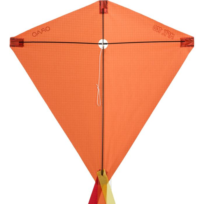 Flugdrachen statisch MFK 100 orange