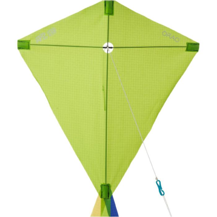 Cometas Monohilo Playa Orao Para Niños MFK 100 Verde Estática