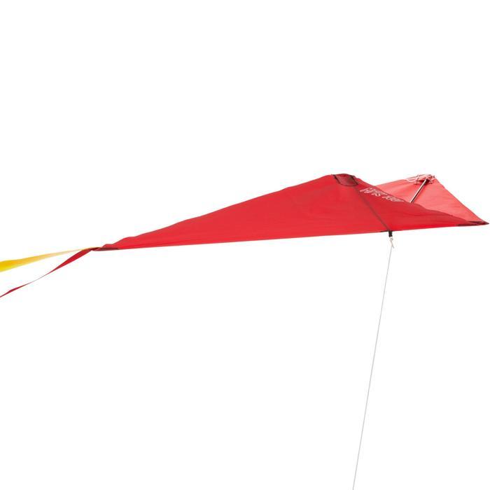 Cometas Monohilo Playa Orao Para Niños MFK 100 Roja Estática
