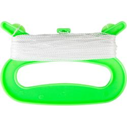 STATIC KITE HANDLE WITH LINE - green