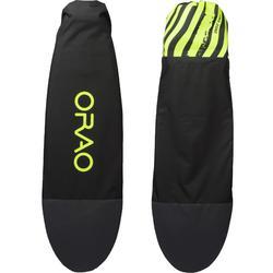 """Boardsock 100"" voor kitesurfboard / max. 5'6 / geel"