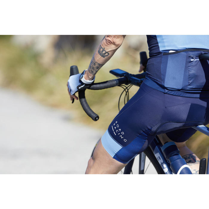 CUISSARD VELO ROUTE HOMME ROADRACING 500 GRIS