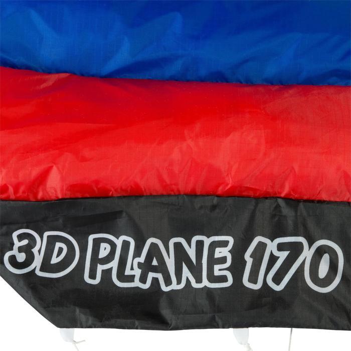 "COMETA DIRIGIBLE ""3D PLANE 170"" PARA NIÑOS - COLOR ACROBACIA"