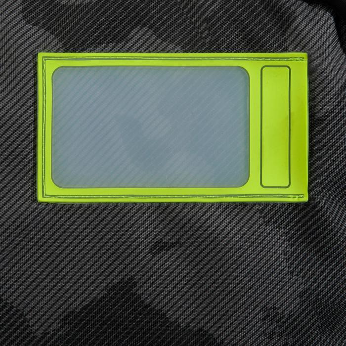 """""""Boardbag 900"""" voor kitesurfboard type twintip / geel"""