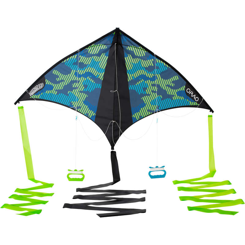 STUNT KITE & ACCESSORIES Kiting - Izypilot 160 - Green ORAO - Kiting