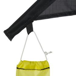 CERF-VOLANT 2 en 1 (STATIQUE & PILOTABLE) IZYPILOT 160 jaune Fluo