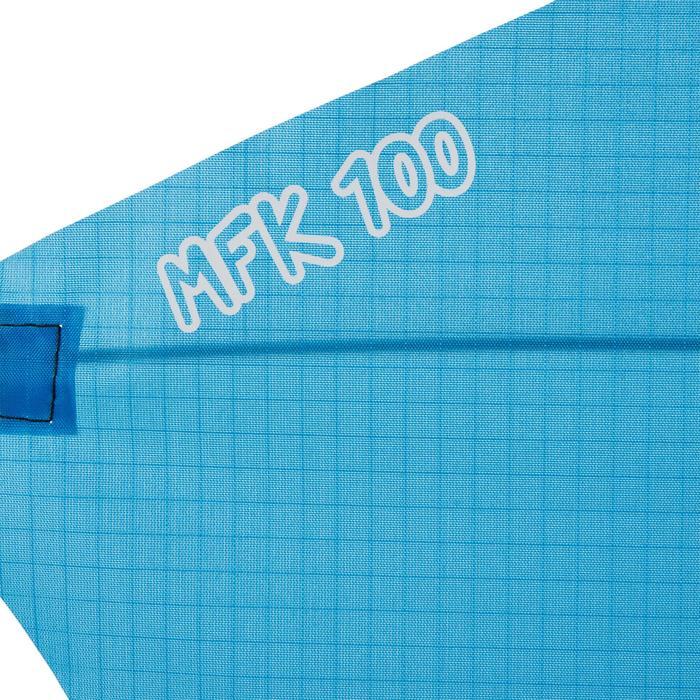 Cometas Monohilo Playa Orao Para Niños MFK 100 Celeste Estática