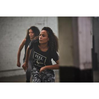 Tanz-Top Damen schwarz