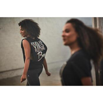 T-shirt sans manche de danse femme - 1304711