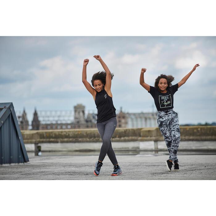 T-shirt sans manche de danse femme - 1304713