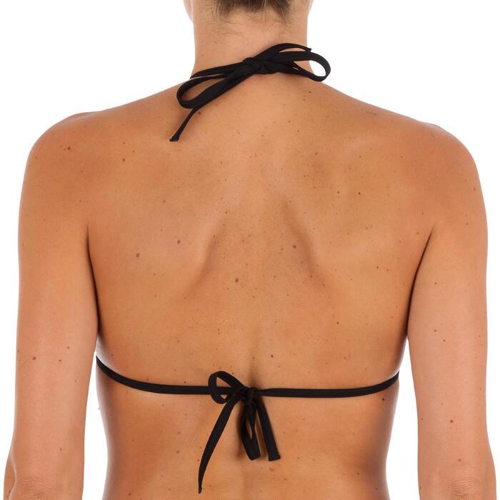 Top Bikini Triangulos Corredizos Olaian Mae Pad Jazz Mujer Multicolor Rayas