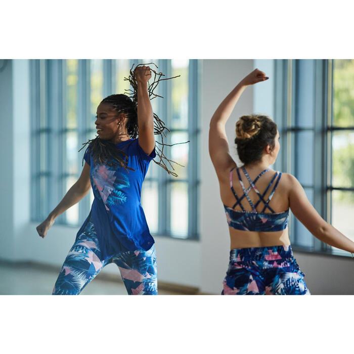 Tunique de danse, longue et ample, femme bleue - 1304878