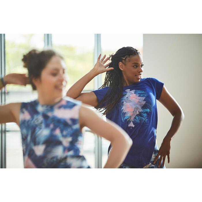 T-shirt sans manche de danse femme - 1304879