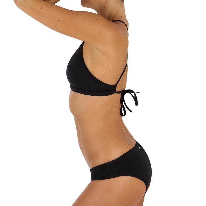 Bas de maillot de bain de surf femme plissée côté NIKI - 1304903
