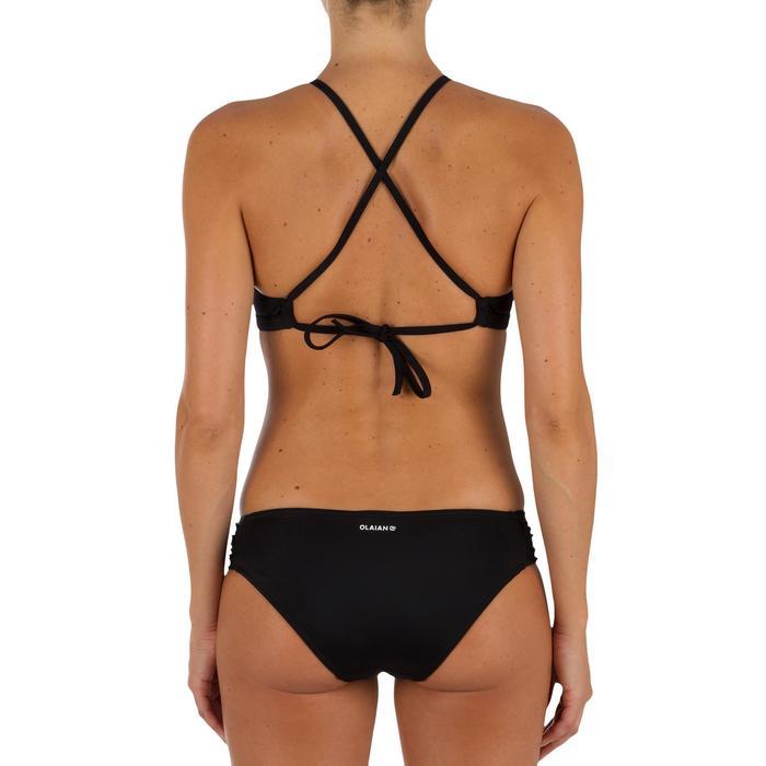 Bas de maillot de bain de surf femme plissée côté NIKI - 1304904