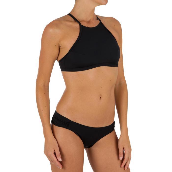 Bas de maillot de bain de surf femme plissée côté NIKI - 1304905
