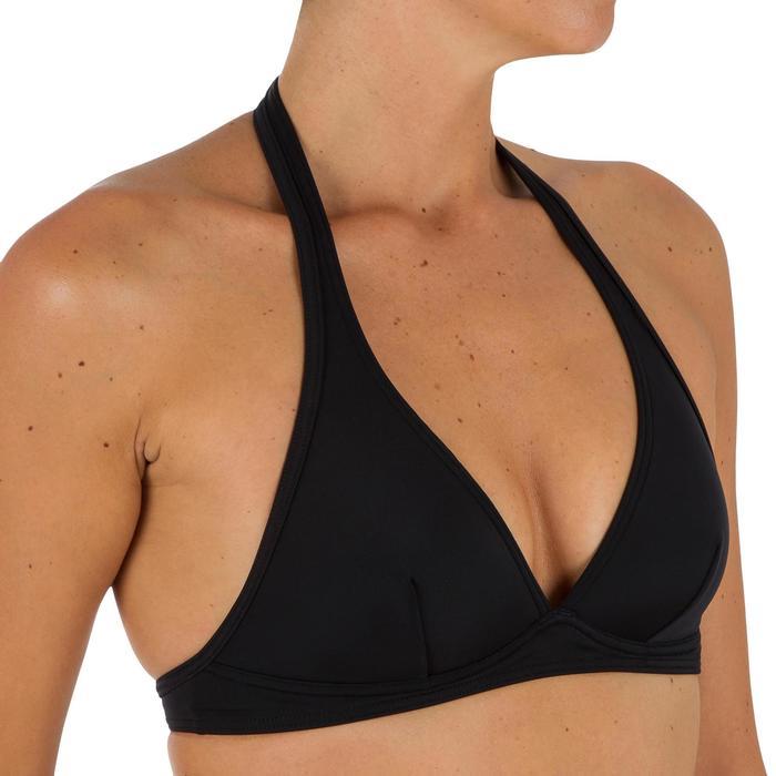 Bikini-Oberteil Neckholder Bahia Rückenverschluss Damen schwarz