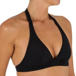 Sujetador de bikini mujer forma fular con cierre en la espalda BAHIA NEGRO