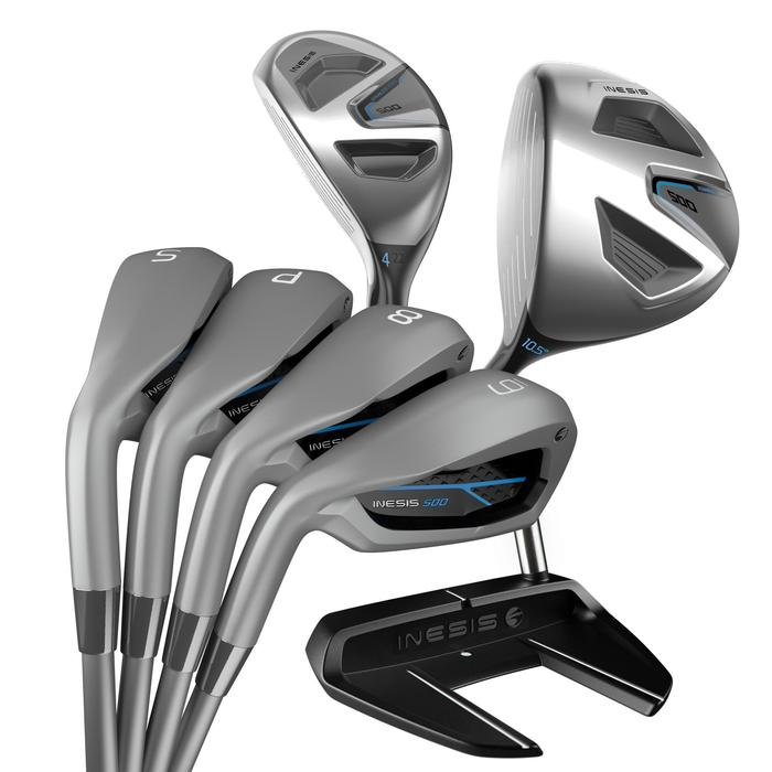 KIT DE GOLF 7 CLUBS HOMME GAUCHER 500 - 1304912