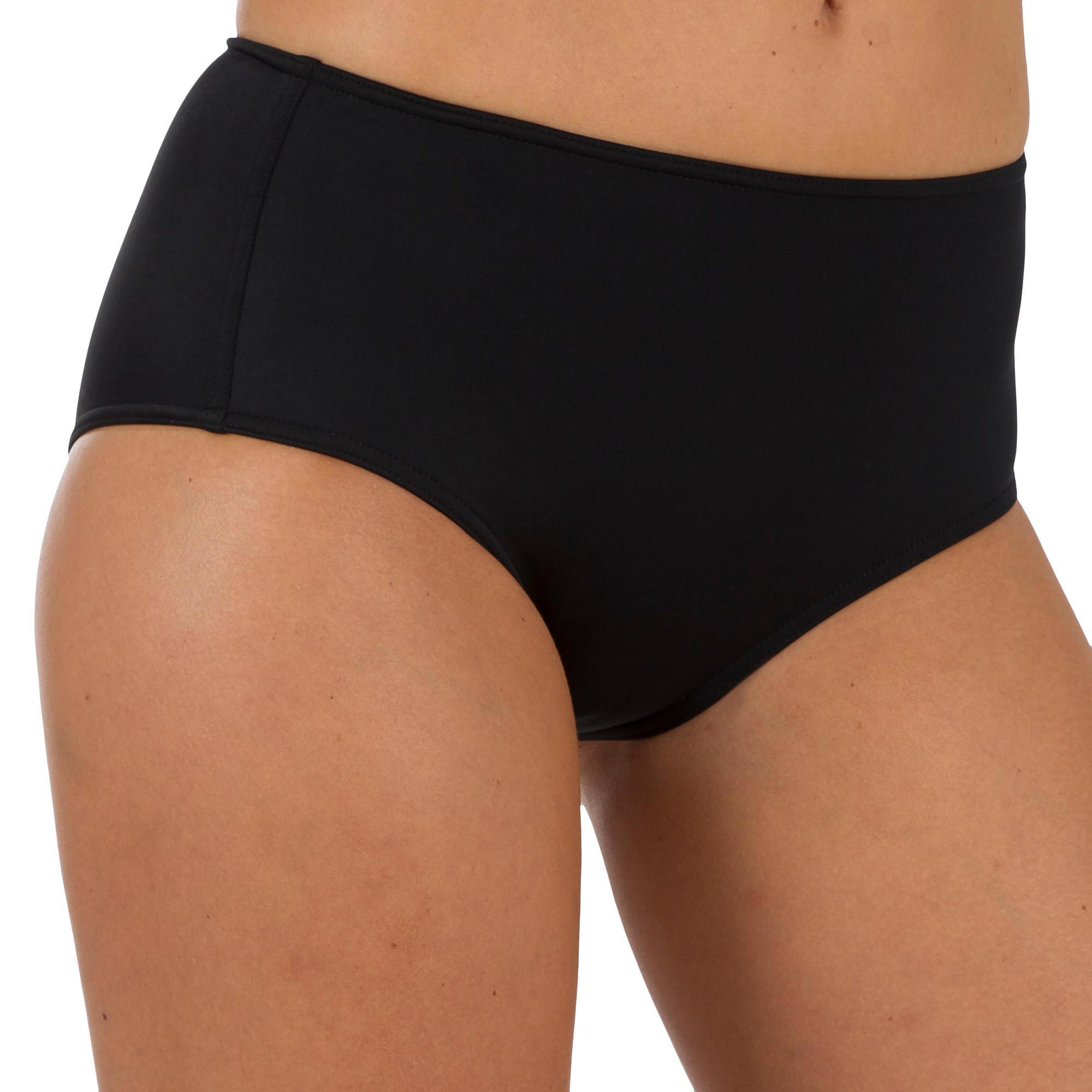 Bikinibroekje met hoge taille Romi zwart