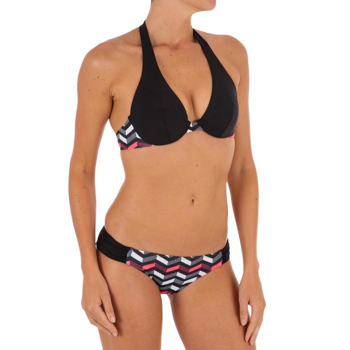Bas de maillot de bain de surf femme plissée côté NIKI - 1304954